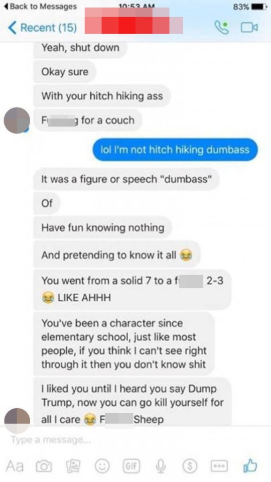 Man gets nasty after girl calls him out for Photoshopped