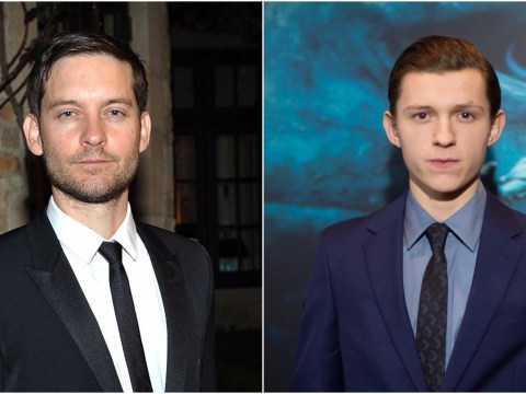 Tobey Maguire bigs up new Spider-Man Tom Holland with funny mash-up video on Instagram