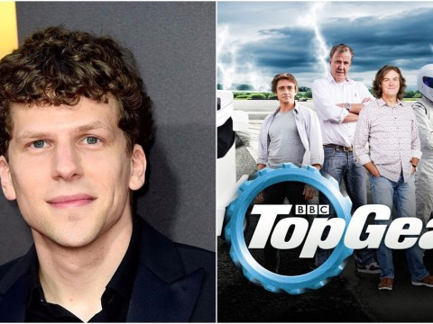 Jesse Eisenberg had never heard of Top Gear before he appeared on it