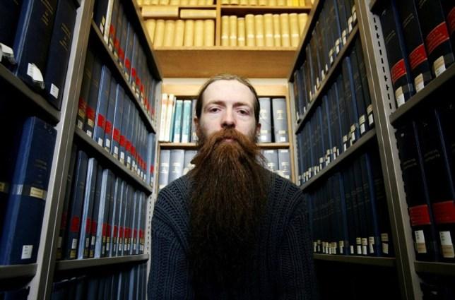 Mandatory Credit: Photo by Roland Kemp/REX/Shutterstock (638872h) Aubrey de Grey Aubrey de Grey, geneticist at Cambridge University, Britain - 21 Mar 2005