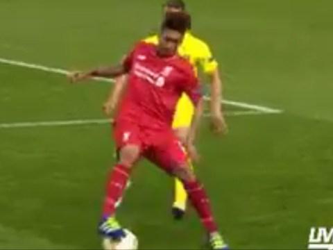Liverpool star Roberto Firmino bamboozles Roberto Soldado with insane skill