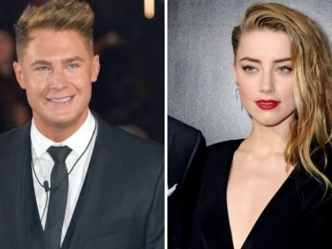 Geordie Shore star Scotty T makes a play for newly-single Amber Heard