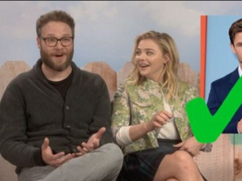 Bad Neighbour's Seth Rogen and Chloe Moretz test their Ramsay Street knowledge