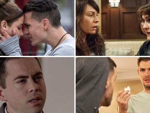12 soap spoiler pictures: Emmerdale crash, EastEnders Max, Coronation Street fight, Hollyoaks drugs