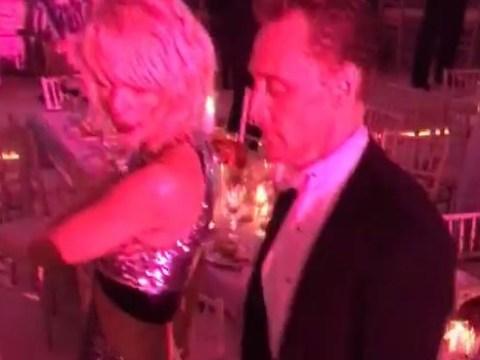 Just Taylor Swift and Tom Hiddleston getting down on the Met Gala dancefloor