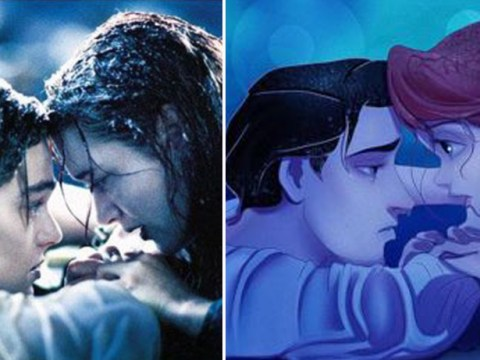 This artist puts Disney characters in classic Hollywood scenes and they're perfect