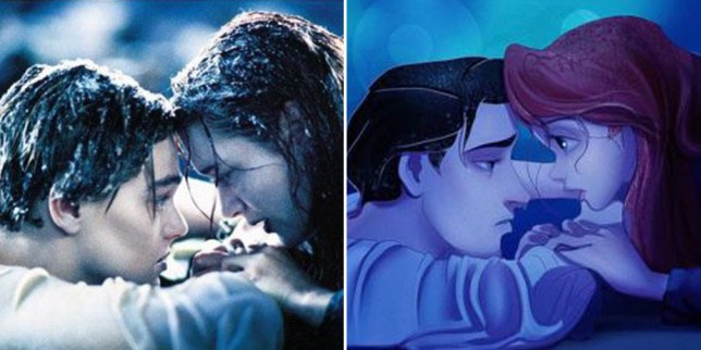 These Disney mashups put their characters in hit live action movies
