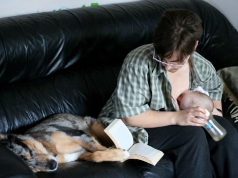 This transgender dad wrote a book about milk-sharing and being a parent