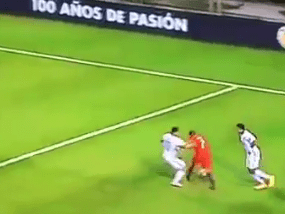 Video: Arsenal's Alexis Sanchez too strong for James Rodriguez in Chile win over Colombia