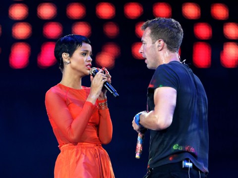 Coldplay's Chris Martin compares Rihanna's voice to a 'beautifully squeezed tube of toothpaste'