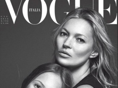 Kate Moss shares Vogue Italia cover with her 13-year old daughter Lila Grace