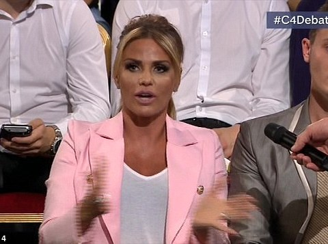 Katie Price admits she's confused by the EU Referendum – and everyone relates