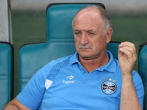 Former Brazil boss Luiz Felipe Scolari wants to be next England manager
