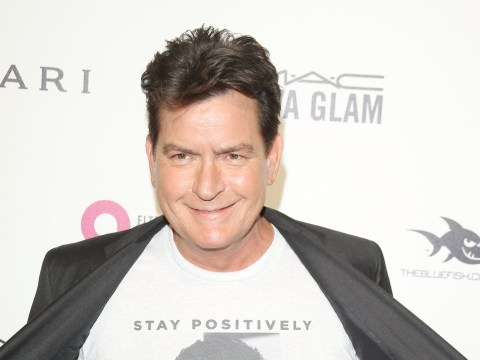 Charlie Sheen is not backing down from tweet asking 2016 to take Donald Trump next