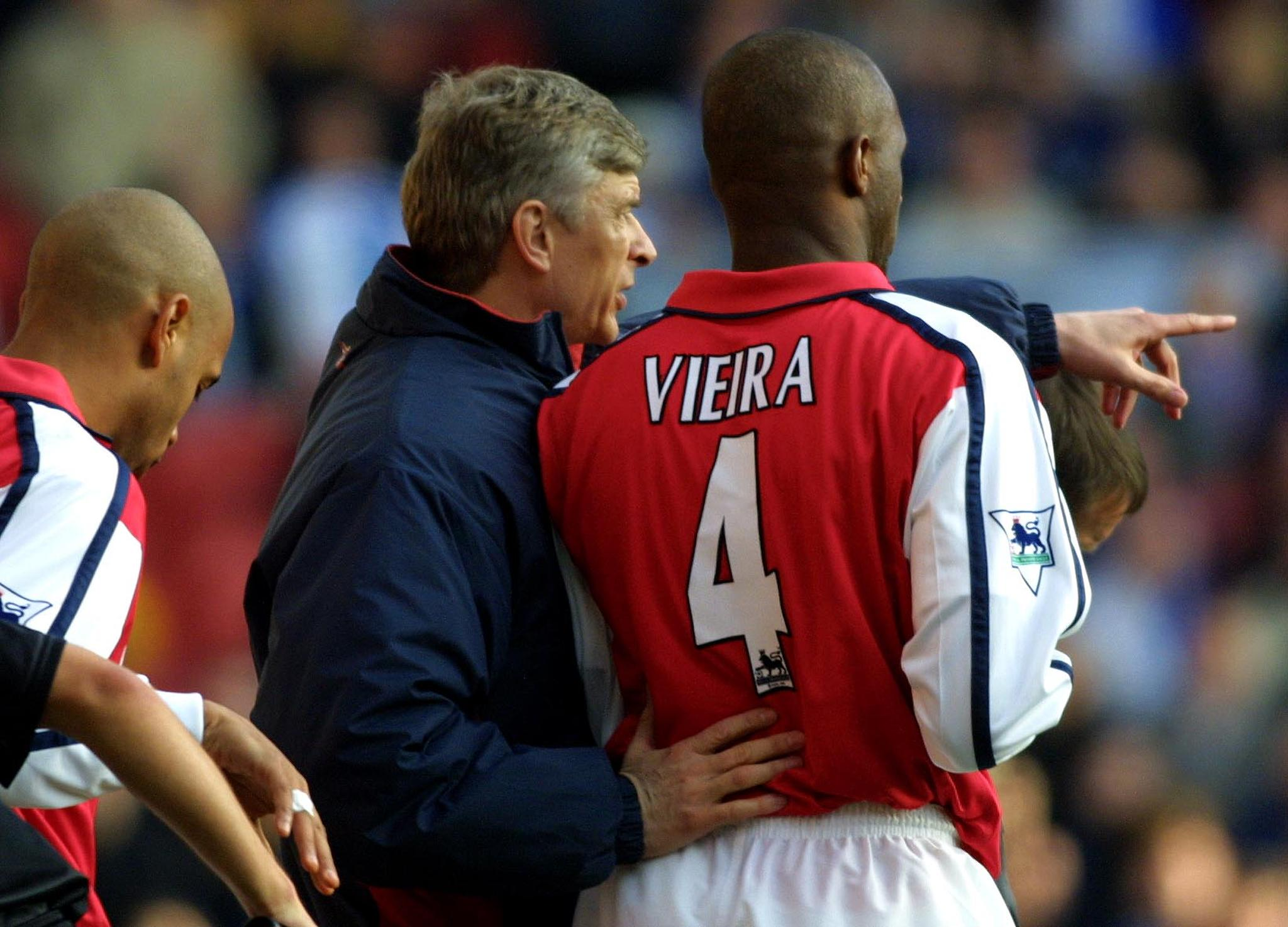 5 players Arsenal tried and failed to replace Patrick Vieira with