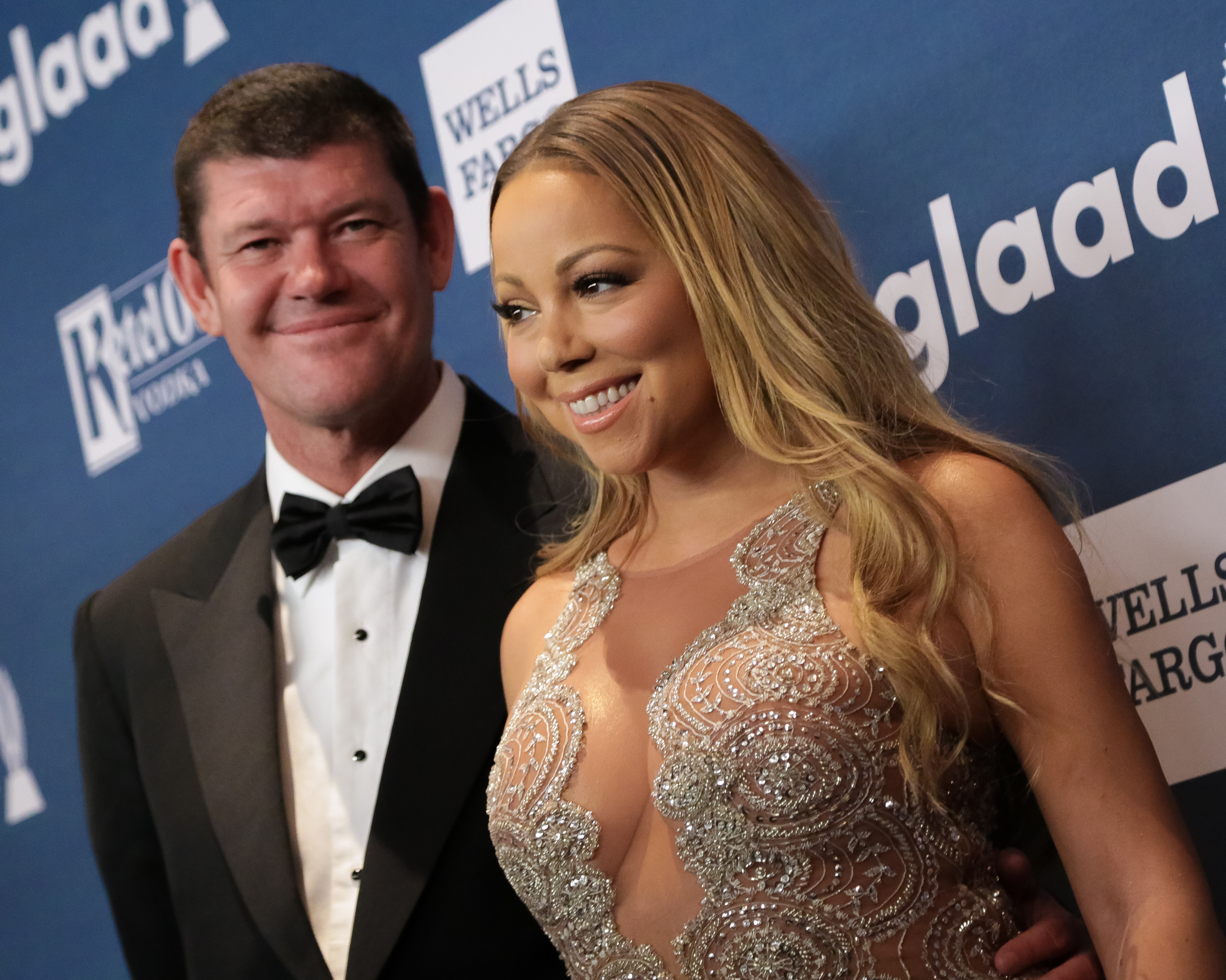 Mariah Carey and James Packer in happier times (Picture: FilmMagic)