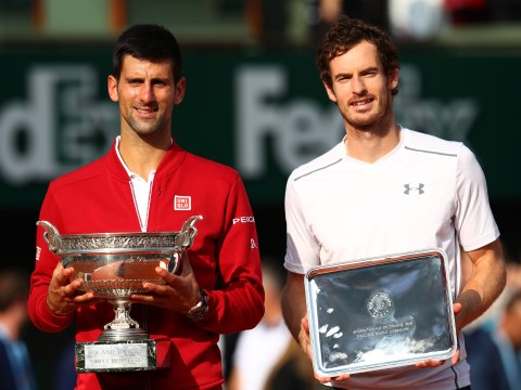 Andy Murray says it sucks to lose French Open final, but congratulates Novak Djokovic on historic victory