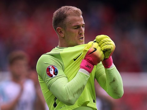 England fans unite to label Joe Hart a 'fraud' after Manchester City stopper makes another mistake vs Iceland