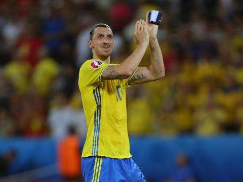 Manchester United target Zlatan Ibrahimovic posts tribute to himself after international retirement