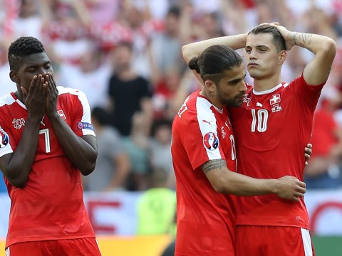Arsenal midfielder Granit Xhaka will recover from Switzerland Euro 2016 penalty miss, says Xherdan Shaqiri