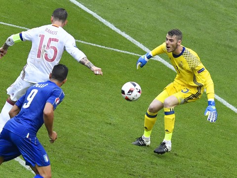 David de Gea's dreadful error ends Spain's incredible European Championship record