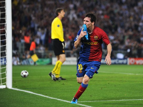 Barcelona star Lionel Messi picks goal against Manchester United in 2009 Champions League final as his best ever
