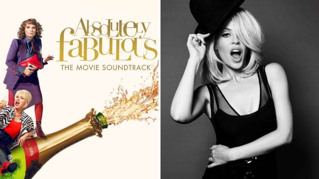 Kylie Minogue is singing the theme song for Absolutely Fabulous: The Movie
