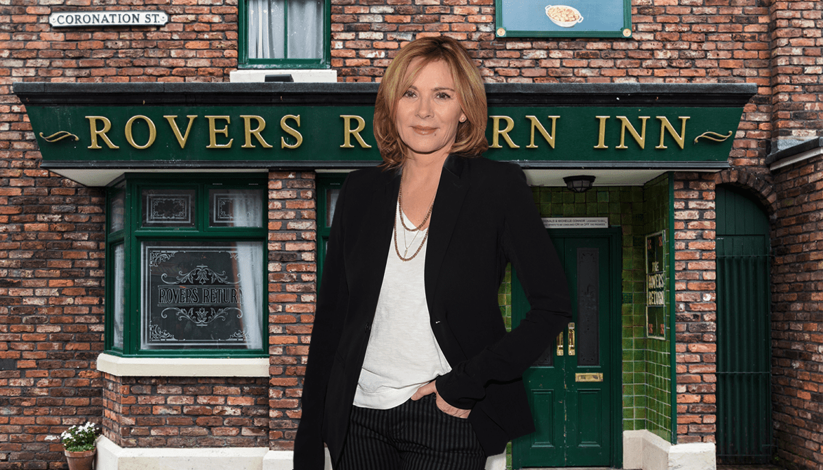 Which Hollywood star is heading for Corrie? Credit: Alamy/Getty images
