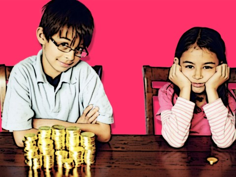 Boys 'get more pocket money than girls' thanks to the patriarchy