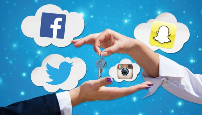 Startup company lets landlords go through your social media to see if you're a good tenant Credit: Getty Images/Alamy/Metro