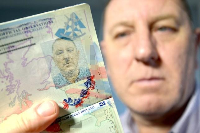 Thats not reich! Passport photo makes man look like Hitler