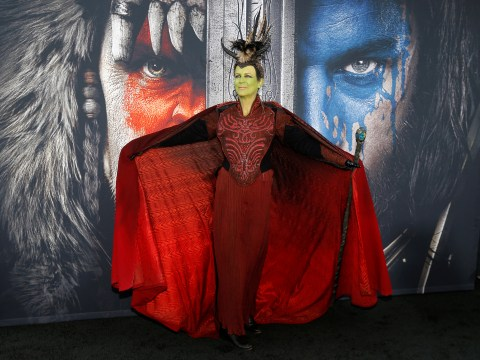 Jamie Lee Curtis proves what a badass she is by dressing up in cosplay for Warcraft premiere