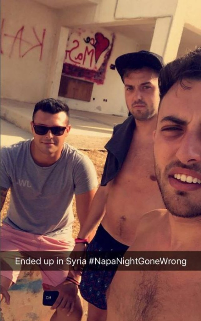 'Thought we were going on a boat trip, ended up in Syria': Three British tourists found themselves in war-torn region after a night out clubbing in Ayia Napa