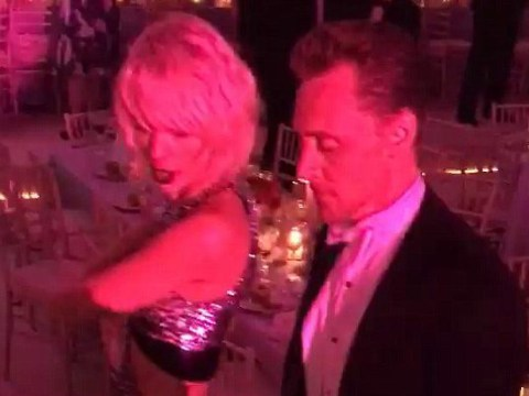 This is the Met Gala video of Taylor Swift and Tom Hiddleston dancing that everyone's talking about