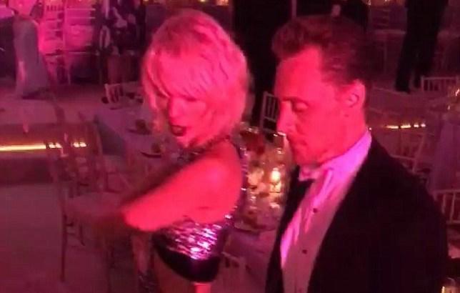 Tom Hiddleston & Taylor Swift Credit: Instagram/ carlossouza1311