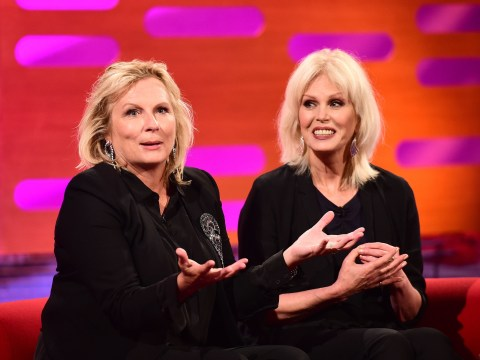 Joanna Lumley admits she had initial 'reservations' over playing Ab Fab's Patsy Stone…