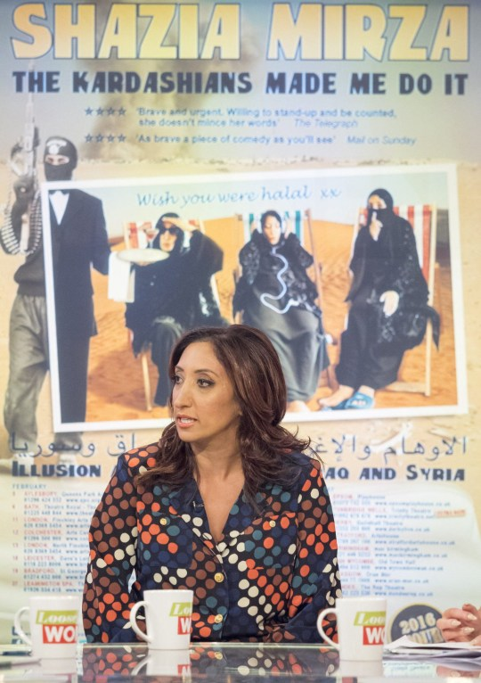 Shazia Mirza calls Isis 'the One Direction of Islam' in skit | Metro