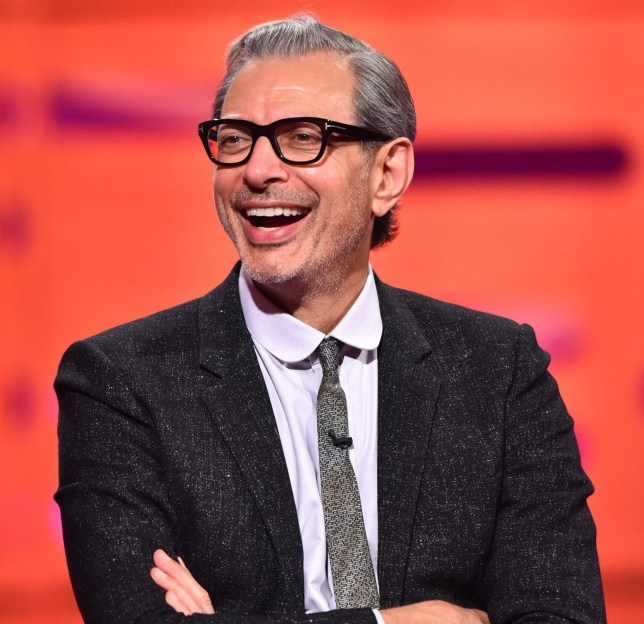 Jeff Goldblum during filming of the Graham Norton Show at the London Studios in London, to be aired on BBC1 on Friday evening. PRESS ASSOCIATION Photo. Picture date: Sunday June 5, 2016. Photo credit should read: PA Images on behalf of So TV