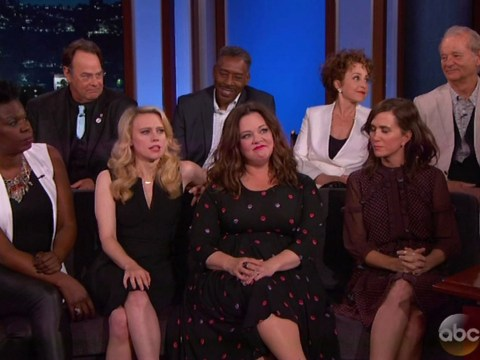 The original Ghostbusters cast just heaped praise on the cast of the reboot…