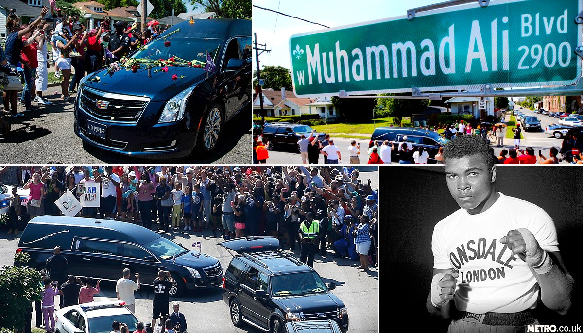 Live: Muhammad Ali is laid to rest