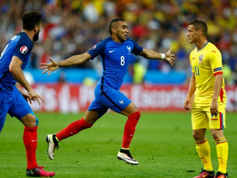 France 2 Romania 1: Dimitri Payet saves the day as Patrice Evra flops in the group A opener at Euro 2016