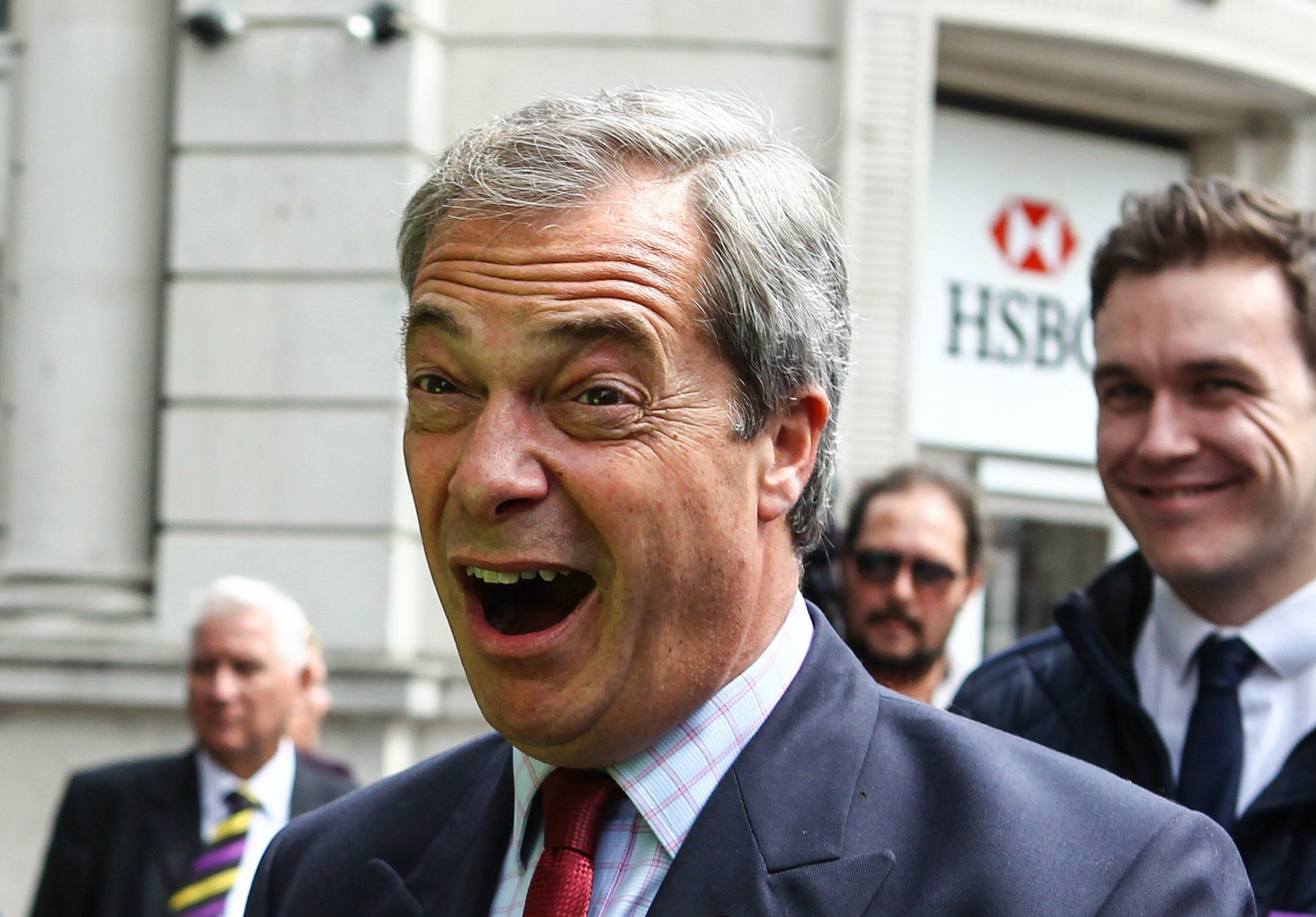 Nigel Farage visits Ramsgate to campaign for Vote Leave on his Brexit tour Featuring: Nigel Farage Where: Ramsgate, United Kingdom When: 13 Jun 2016 Credit: WENN.com