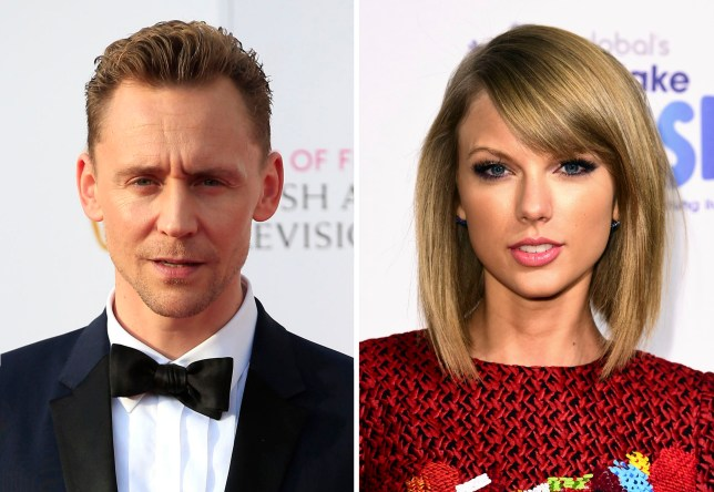 File photos of Tom Hiddleston and Taylor Swift, who have been pictured kissing and embracing amid reports of a romance. PRESS ASSOCIATION Photo. Issue date: Thursday June 16, 2016. The photographs of the couple in The Sun emerged two weeks after the 26-year-old Shake It Off singer's split with Scottish DJ Calvin Harris. See PA story SHOWBIZ Swift. Photo credit should read: PA Wire