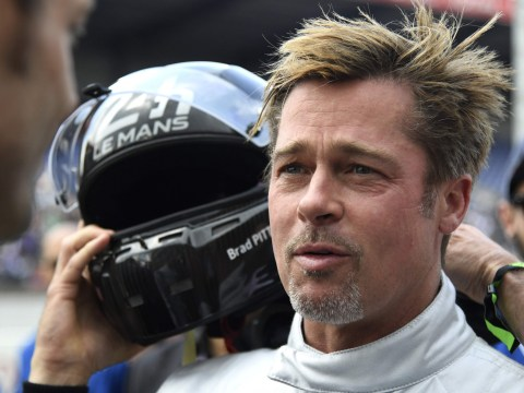 Brad Pitt shows off his French as he starts prestigious 24 Hours of Le Mans