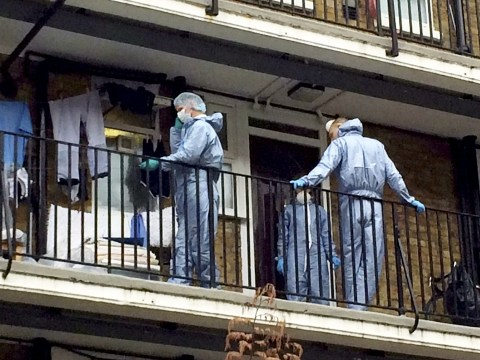 Murder investigation after couple found stabbed in London home