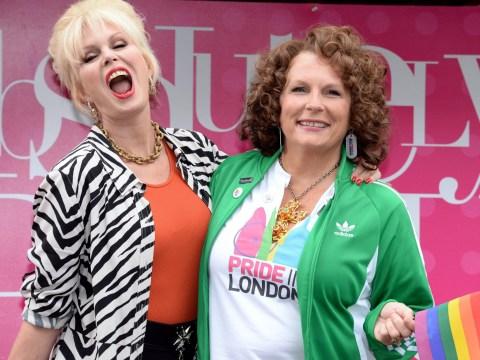 Jennifer Saunders and Joanna Lumley got London Pride off to a fabulous start