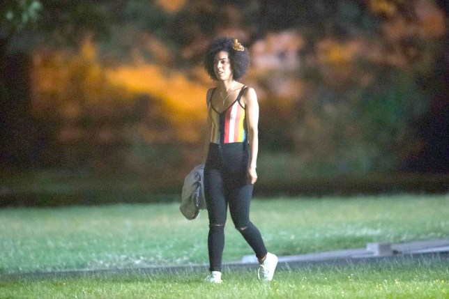 The Doctor's new companion Pearl Mackie, who replaces Jenna Coleman, spotted during filming for the new series of BBC show Doctor Who at Cardiff's University on Museum Avenue, Cardiff.nPIC Matthew Horwoodn© WALES NEWS SERVICE