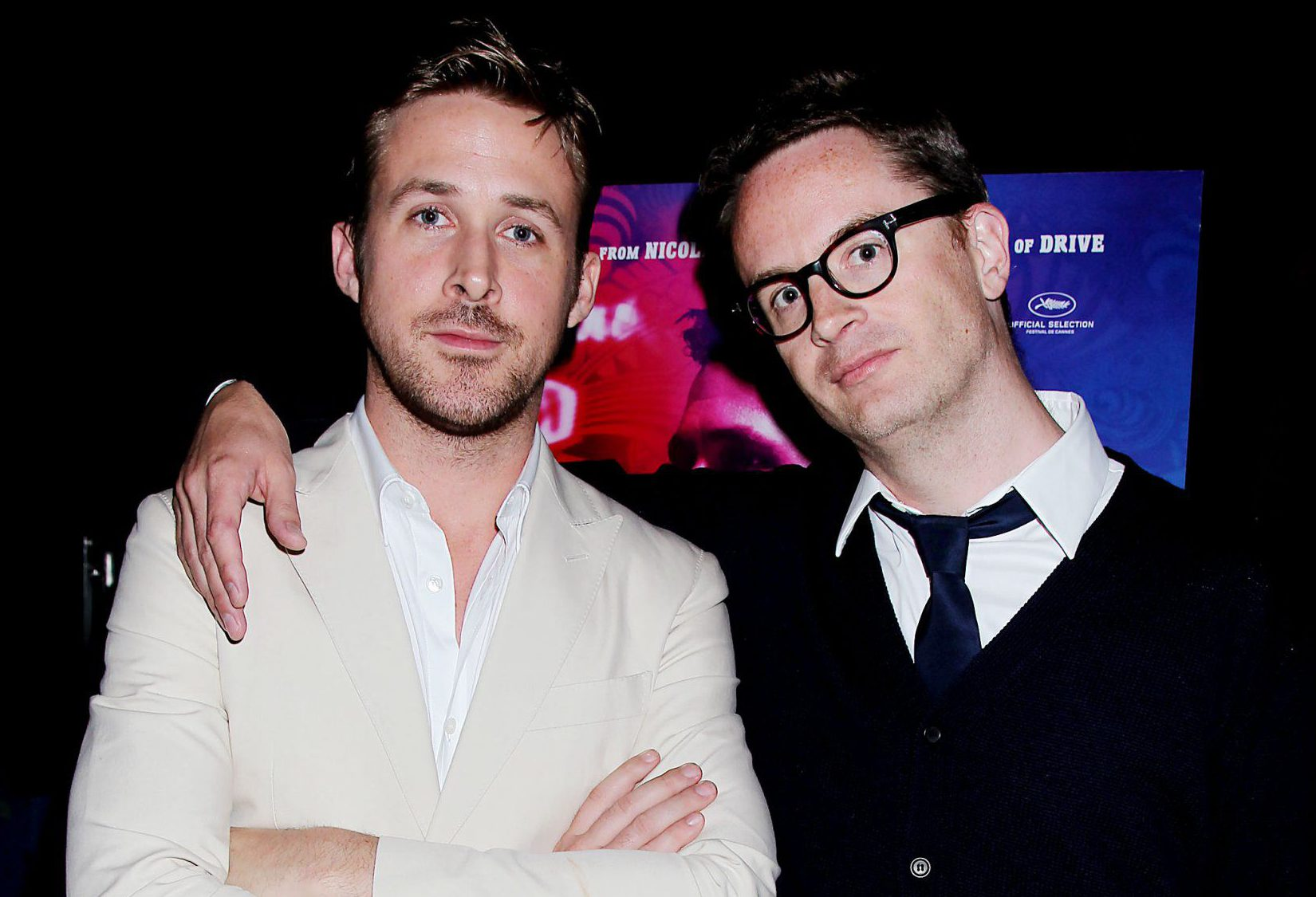 Mandatory Credit: Photo by Dave Allocca/StarPix/REX/Shutterstock (5632421u)nRyan Gosling and Nicolas Winding Refnn'Only God Forgives' film screening, New York, America - 16 Jul 2013nn
