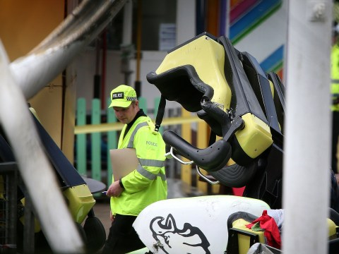 Boys remain seriously ill after rollercoaster crash
