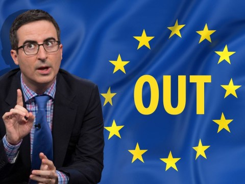 John Oliver loses it over Brexit